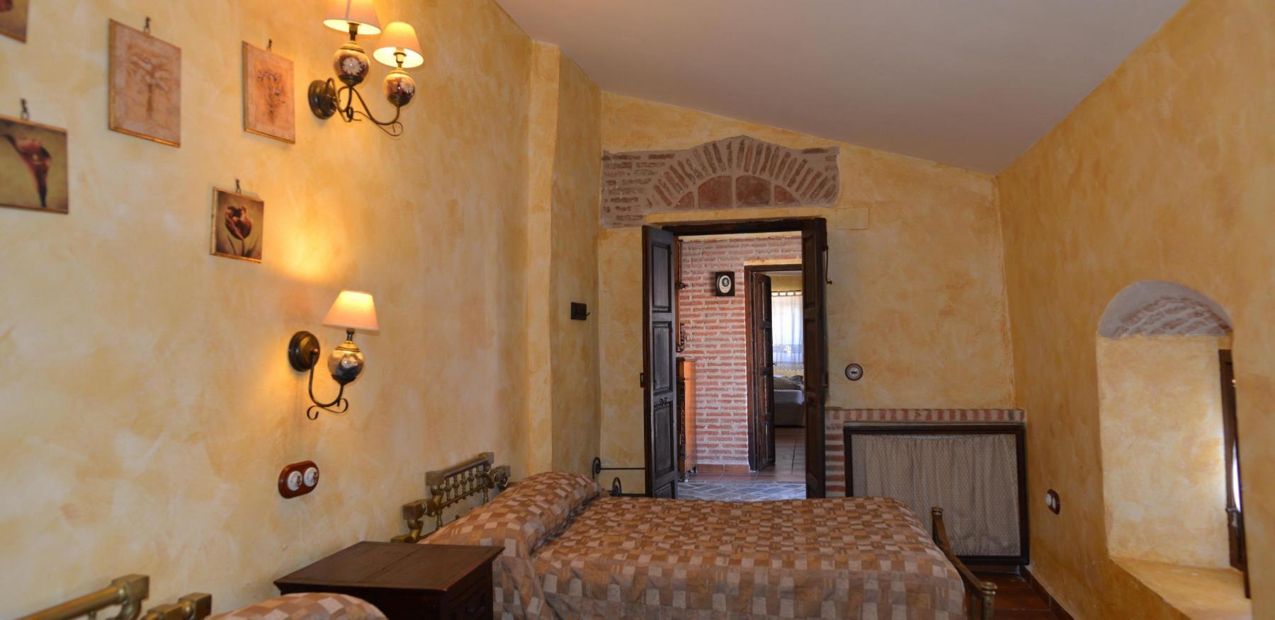 Dormitorio 02 Pedro de Valdivia en Casa del conde