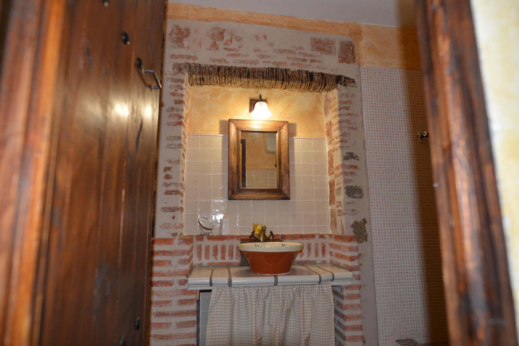 Cuarto de Baño Dormitorio 04 Francisco de Orellana en Casa del Conde